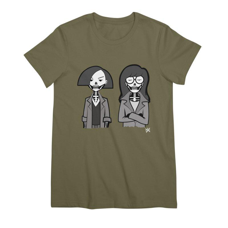 Sick Sad World Women's Premium T-Shirt by ZOMBIETEETH