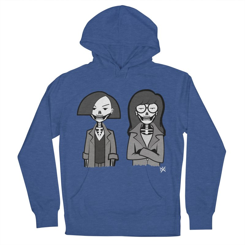 Sick Sad World Men's French Terry Pullover Hoody by ZOMBIETEETH