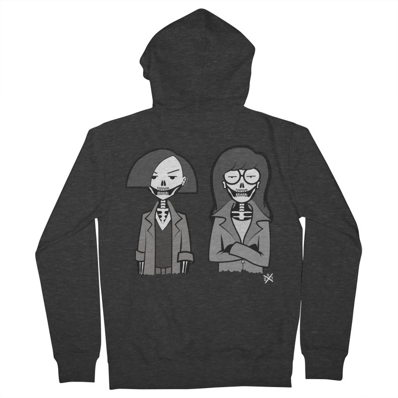 Sick Sad World Men's French Terry Zip-Up Hoody by ZOMBIETEETH