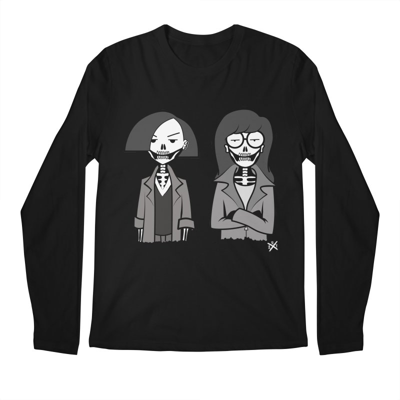 Sick Sad World Men's Regular Longsleeve T-Shirt by ZOMBIETEETH