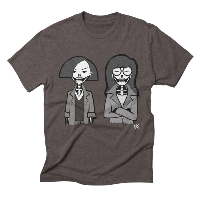 Sick Sad World Men's Triblend T-Shirt by ZOMBIETEETH