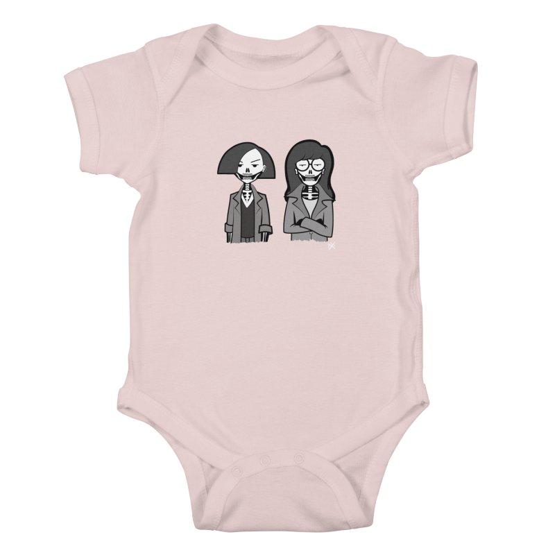 Sick Sad World Kids Baby Bodysuit by ZOMBIETEETH