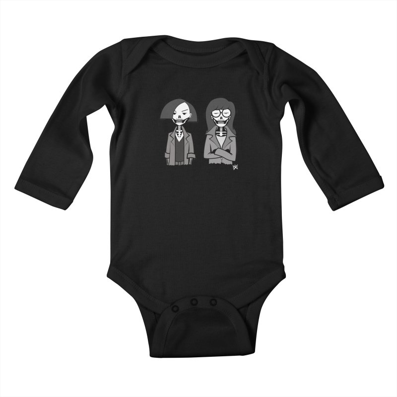 Sick Sad World Kids Baby Longsleeve Bodysuit by ZOMBIETEETH