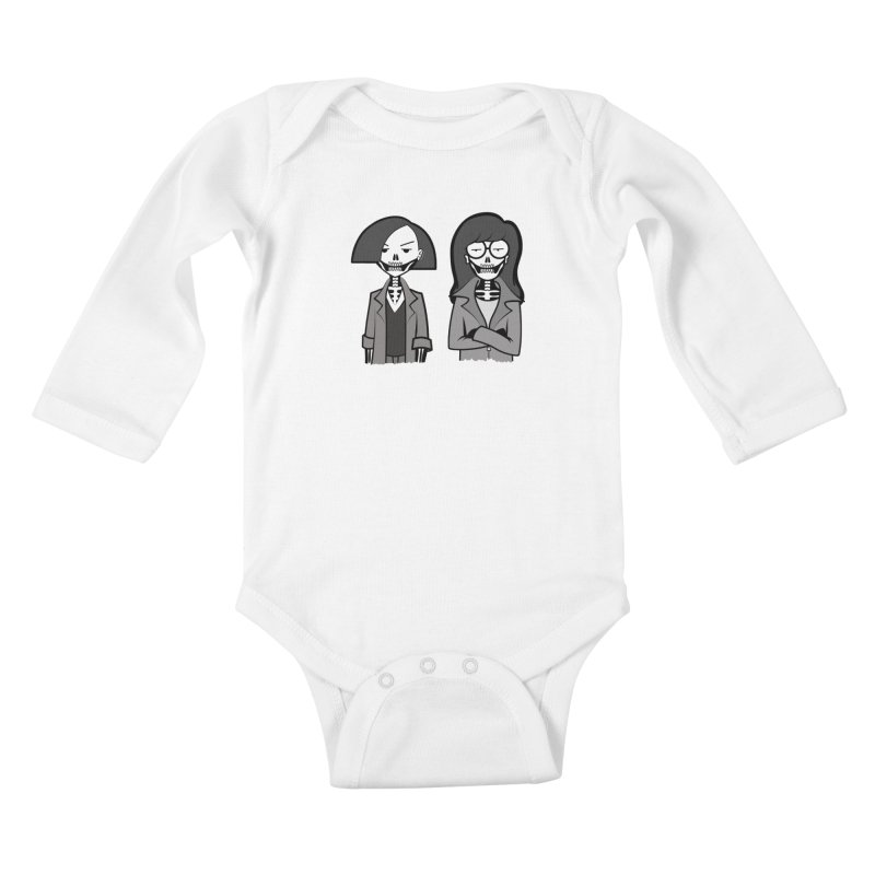 Sick Sad World Kids Baby Longsleeve Bodysuit by ZOMBIETEETH