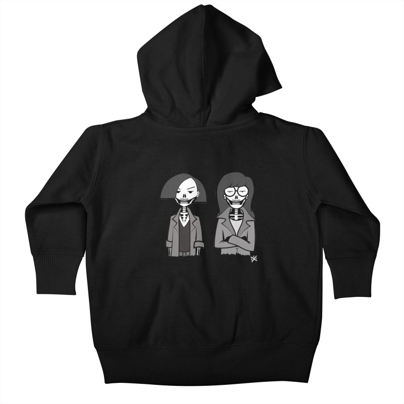 Sick Sad World Kids Baby Zip-Up Hoody by ZOMBIETEETH