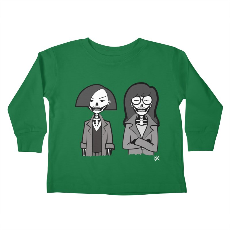 Sick Sad World Kids Toddler Longsleeve T-Shirt by ZOMBIETEETH