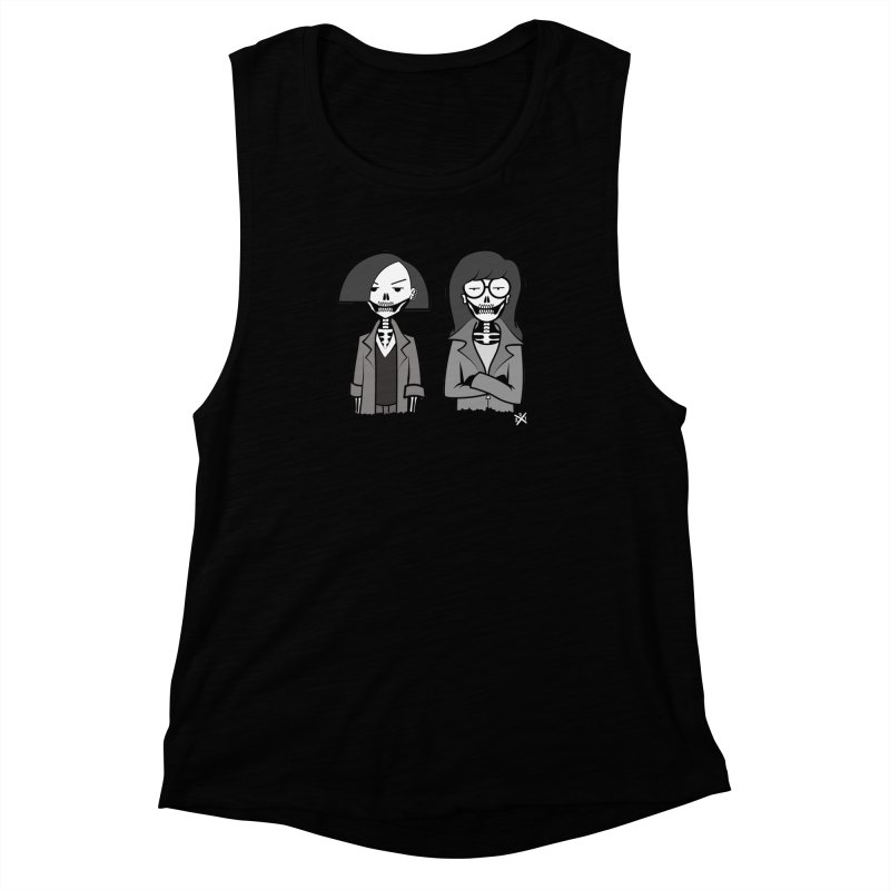 Sick Sad World Women's Muscle Tank by ZOMBIETEETH