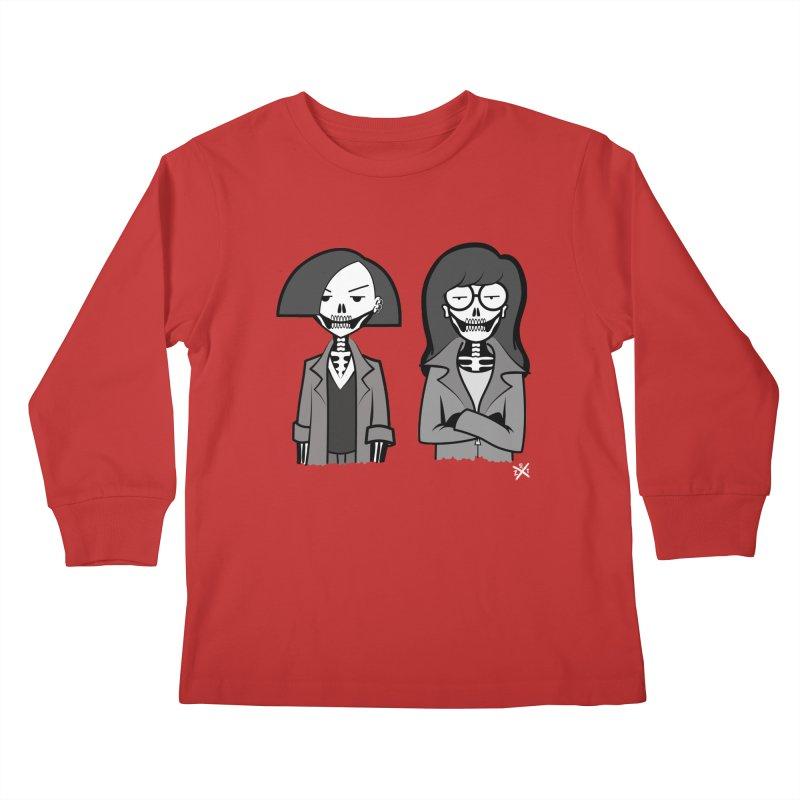 Sick Sad World Kids Longsleeve T-Shirt by ZOMBIETEETH