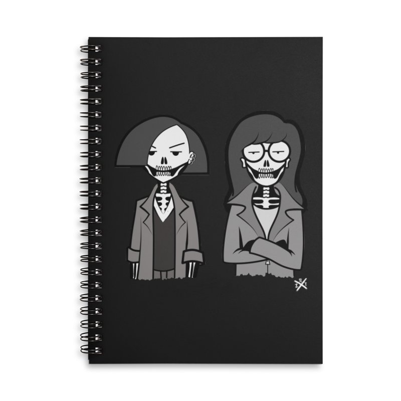 Sick Sad World Accessories Lined Spiral Notebook by ZOMBIETEETH