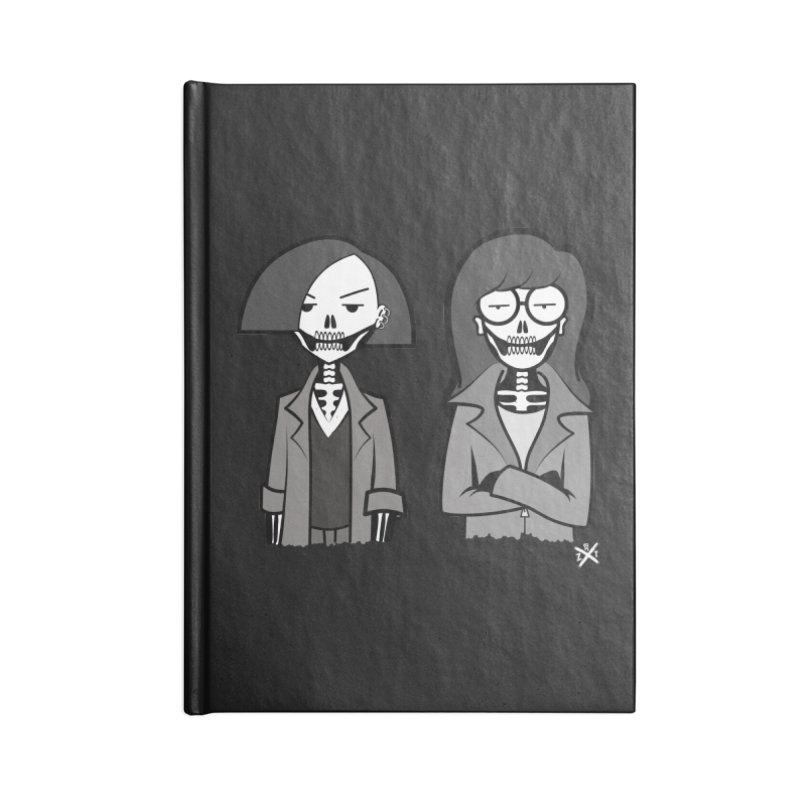 Sick Sad World Accessories Lined Journal Notebook by ZOMBIETEETH