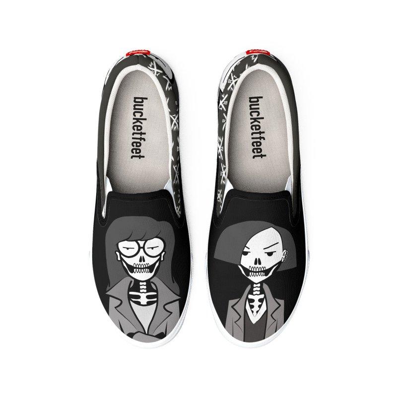 Sick Sad World Men's Shoes by ZOMBIETEETH