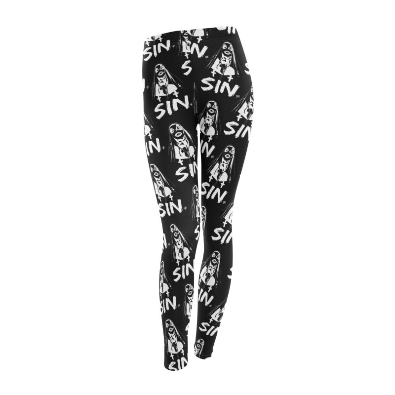 SIN Women's Leggings Bottoms by ZOMBIETEETH