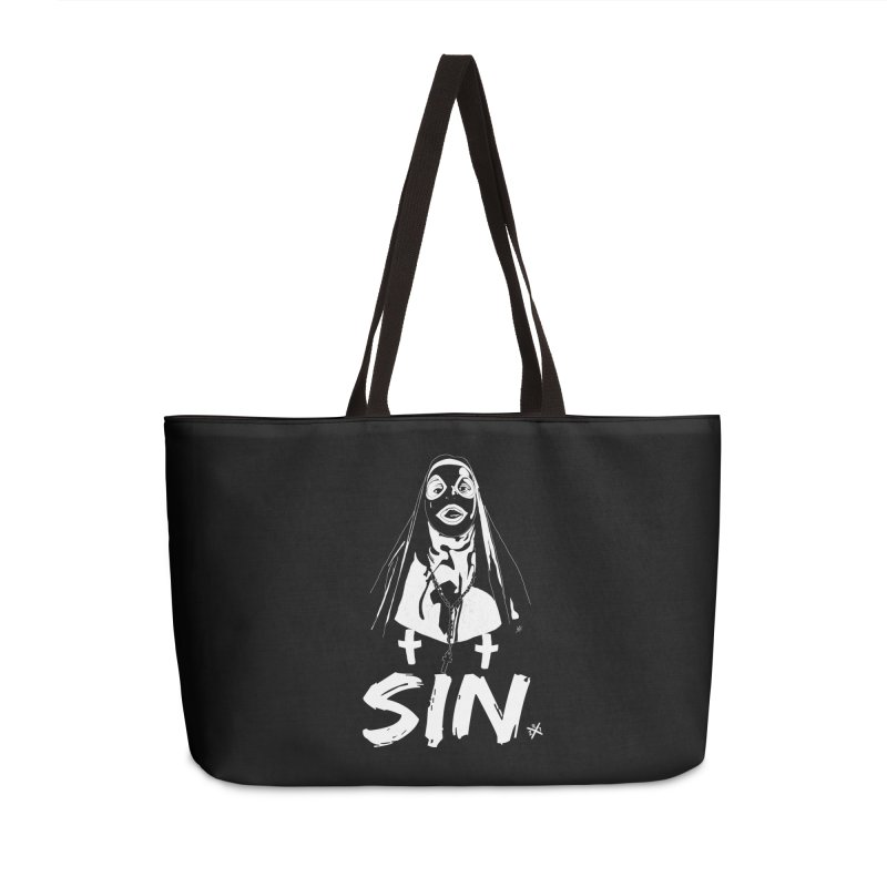 SIN Accessories Weekender Bag Bag by ZOMBIETEETH