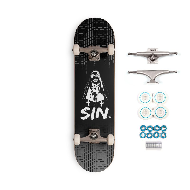 SIN Accessories Complete - Basic Skateboard by ZOMBIETEETH