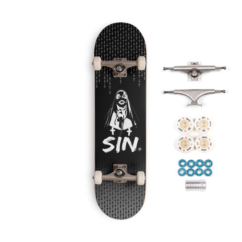 SIN Accessories Complete - Premium Skateboard by ZOMBIETEETH