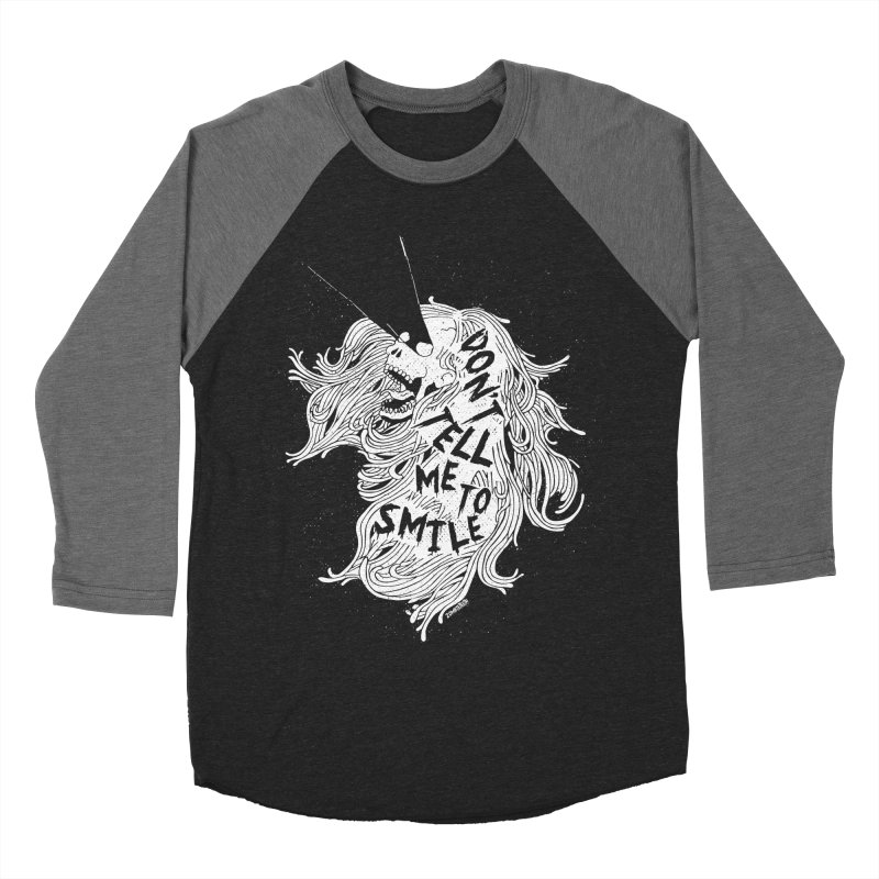 Don't tell me to smile Women's Longsleeve T-Shirt by ZOMBIETEETH