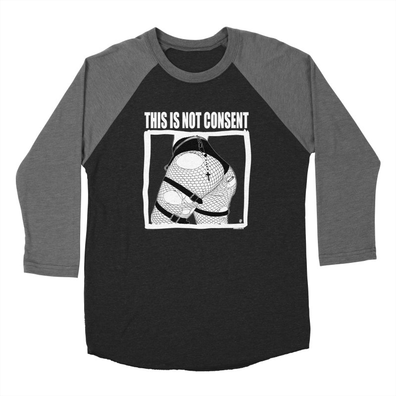 This is not consent (black) Women's Longsleeve T-Shirt by ZOMBIETEETH