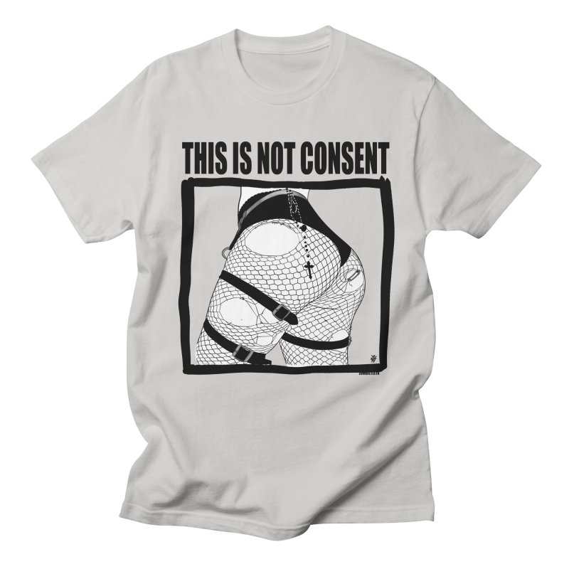This is not consent (various colors) Men's Regular T-Shirt by ZOMBIETEETH