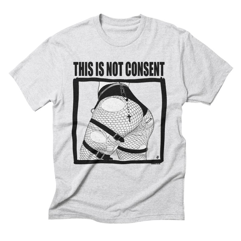 This is not consent (various colors) Men's Triblend T-Shirt by ZOMBIETEETH