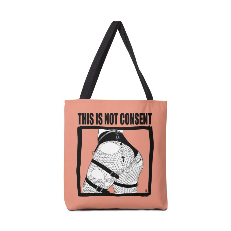 This is not consent (various colors) Accessories Tote Bag Bag by ZOMBIETEETH