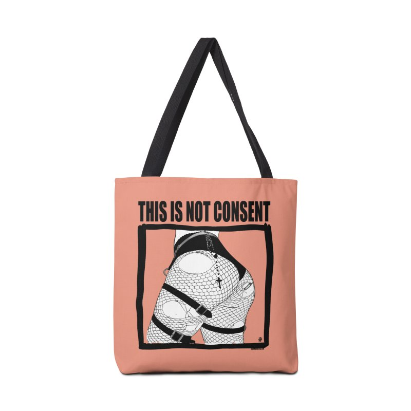 This is not consent (various colors) Accessories Bag by ZOMBIETEETH