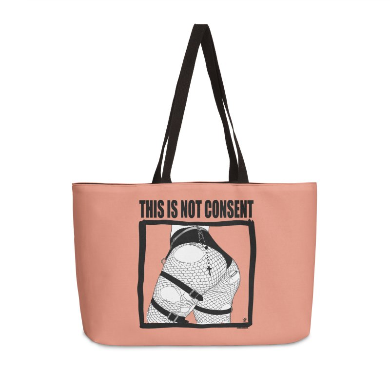 This is not consent (various colors) Accessories Weekender Bag Bag by ZOMBIETEETH