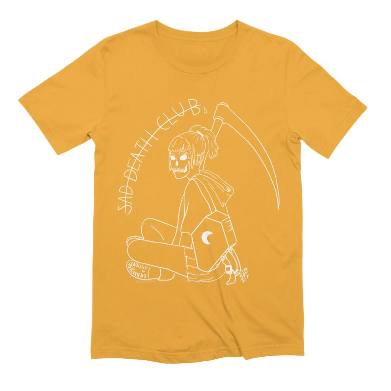 Sad death club Men's Extra Soft T-Shirt by ZOMBIETEETH