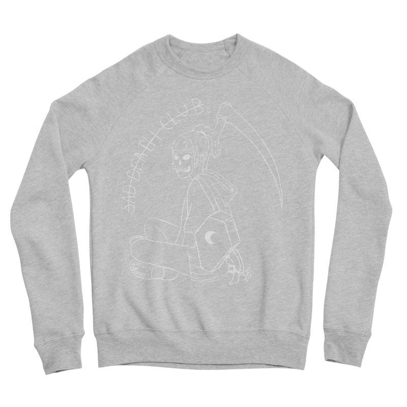 Sad death club Women's Sponge Fleece Sweatshirt by ZOMBIETEETH