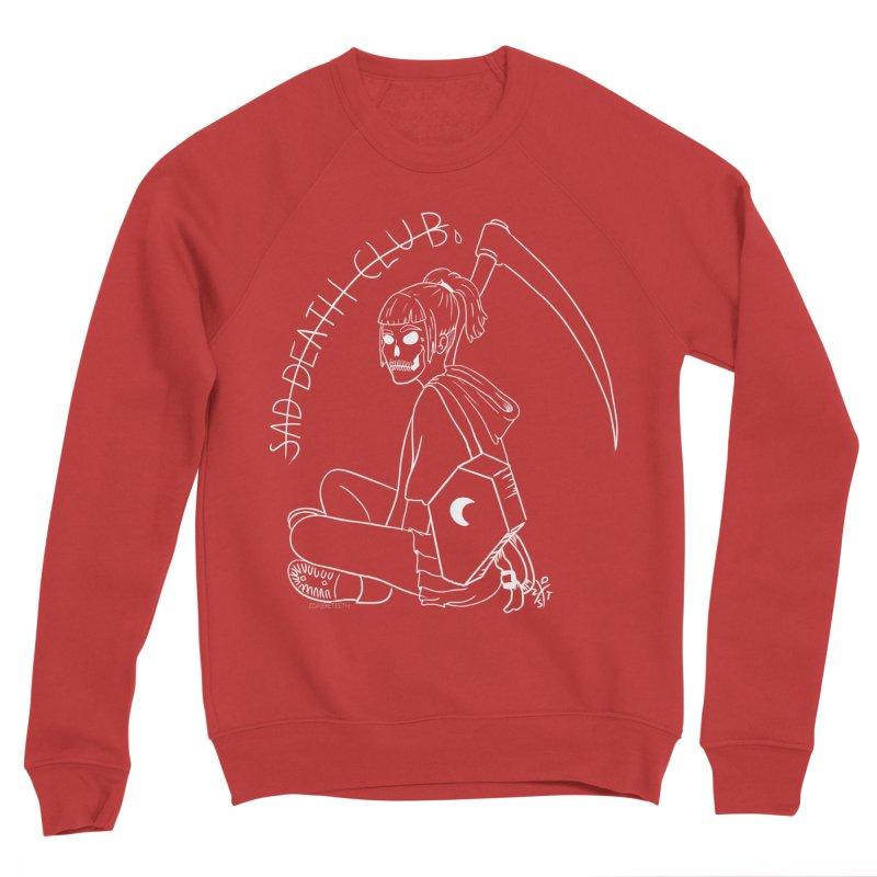Sad death club Men's Sponge Fleece Sweatshirt by ZOMBIETEETH