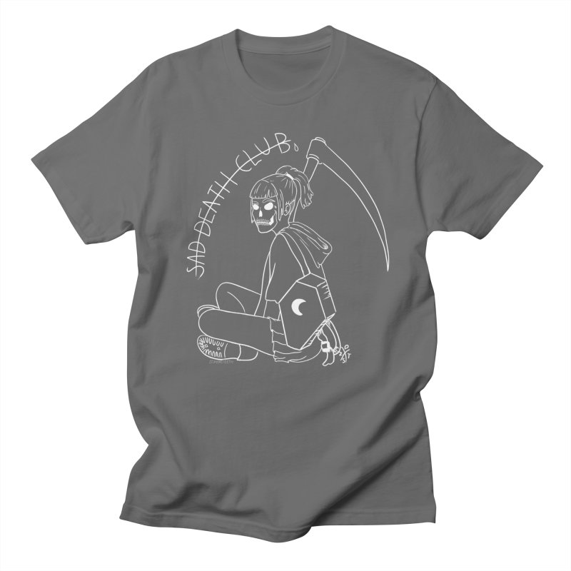 Sad death club Men's T-Shirt by ZOMBIETEETH