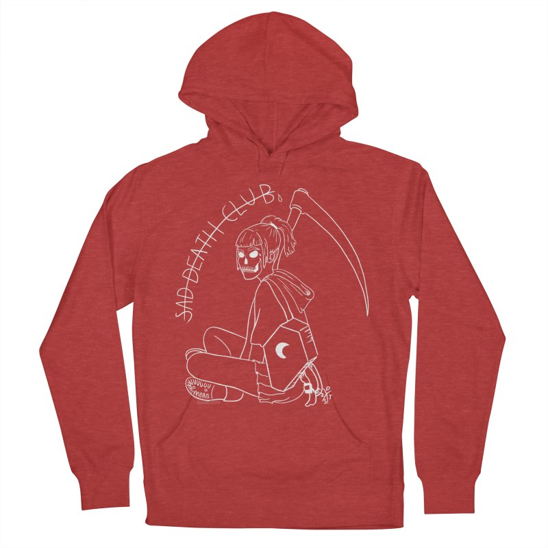 Sad death club Women's French Terry Pullover Hoody by ZOMBIETEETH