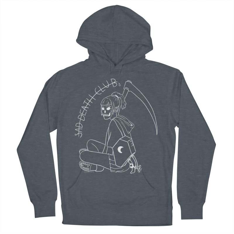Sad death club Men's French Terry Pullover Hoody by ZOMBIETEETH