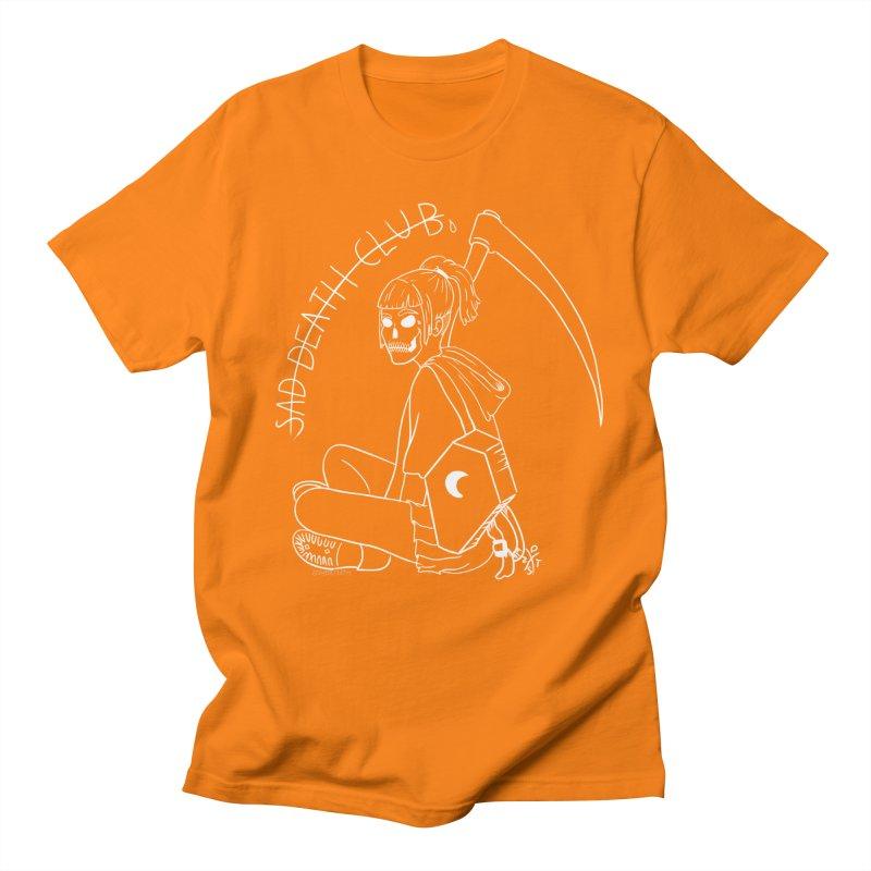 Sad death club Men's Regular T-Shirt by ZOMBIETEETH