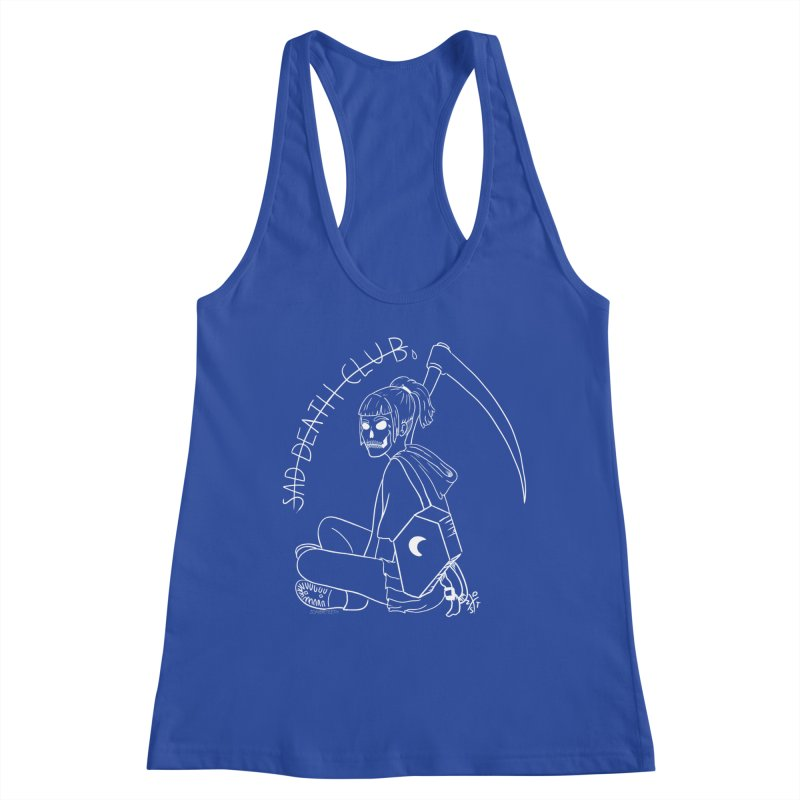 Sad death club Women's Tank by ZOMBIETEETH