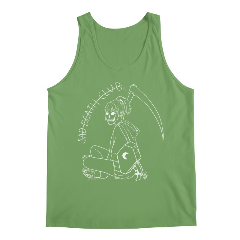 Sad death club Men's Tank by ZOMBIETEETH