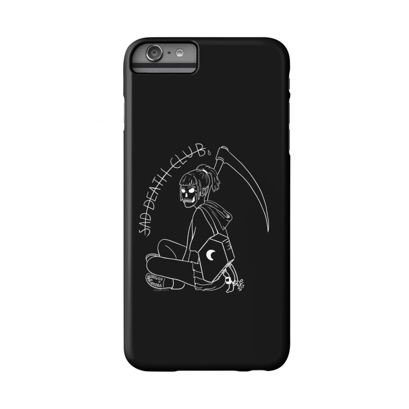 Sad death club Accessories Phone Case by ZOMBIETEETH