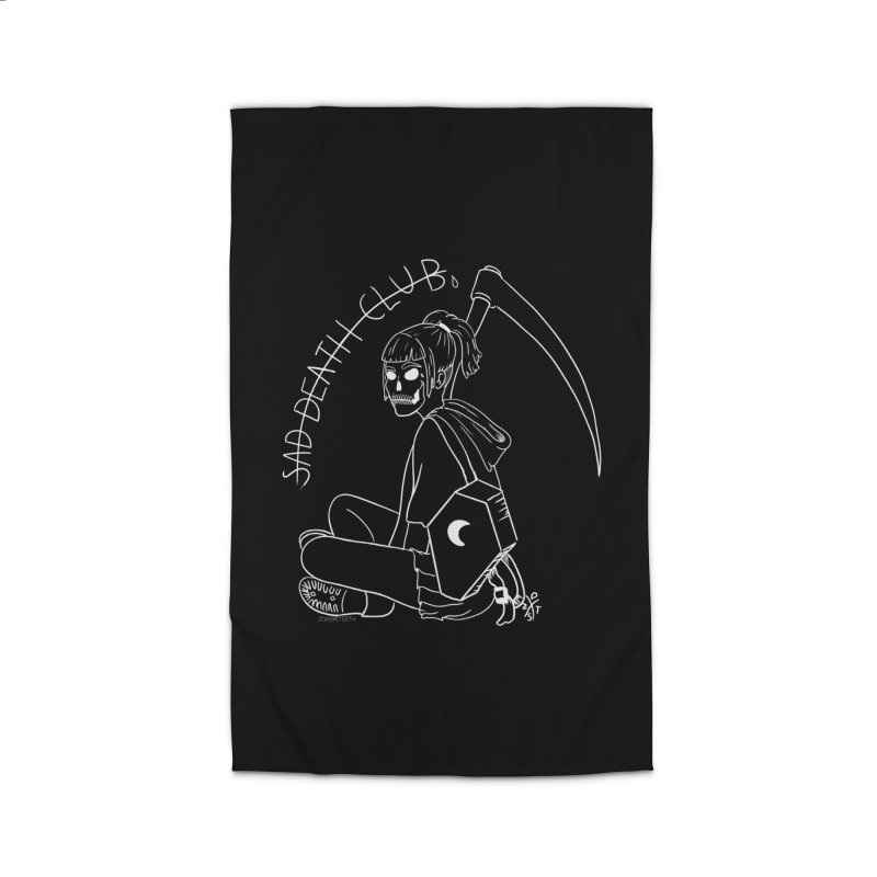 Sad death club Home Rug by ZOMBIETEETH