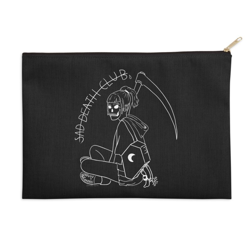 Sad death club Accessories Zip Pouch by ZOMBIETEETH