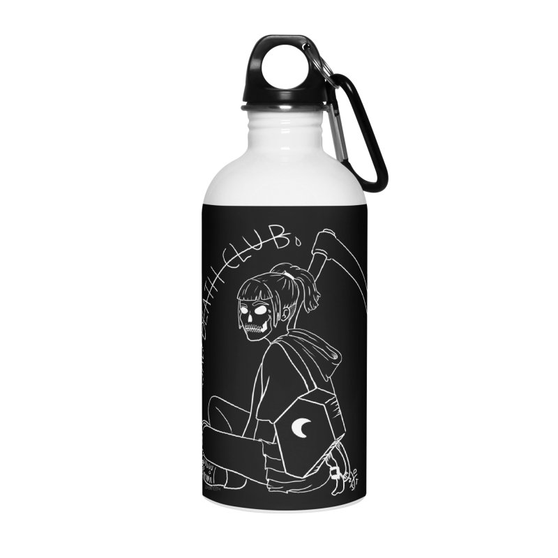 Sad death club Accessories Water Bottle by ZOMBIETEETH