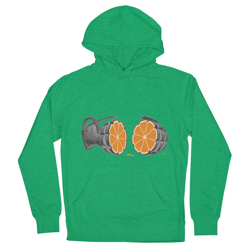 Make Juice Not War Women's French Terry Pullover Hoody by zomboy's Artist Shop