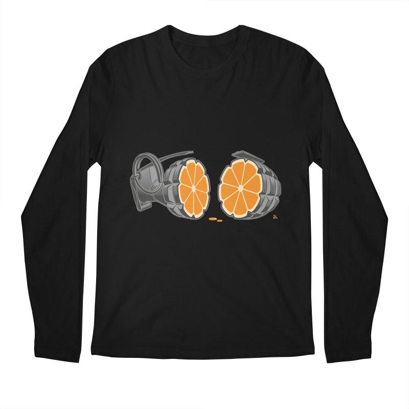 Make Juice Not War Men's Regular Longsleeve T-Shirt by zomboy's Artist Shop