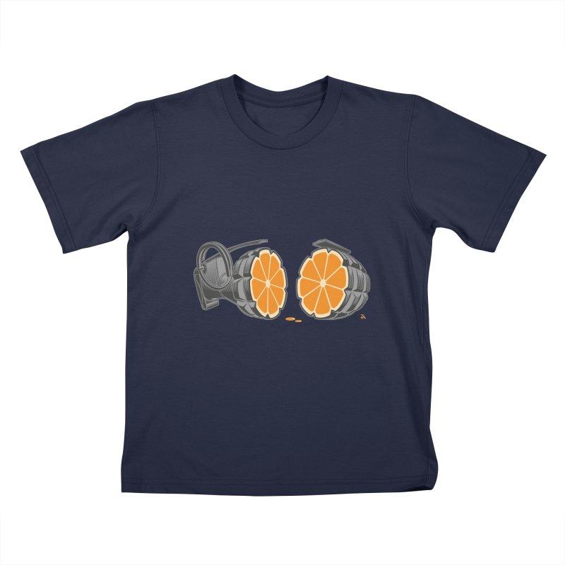 Make Juice Not War Kids T-Shirt by zomboy's Artist Shop