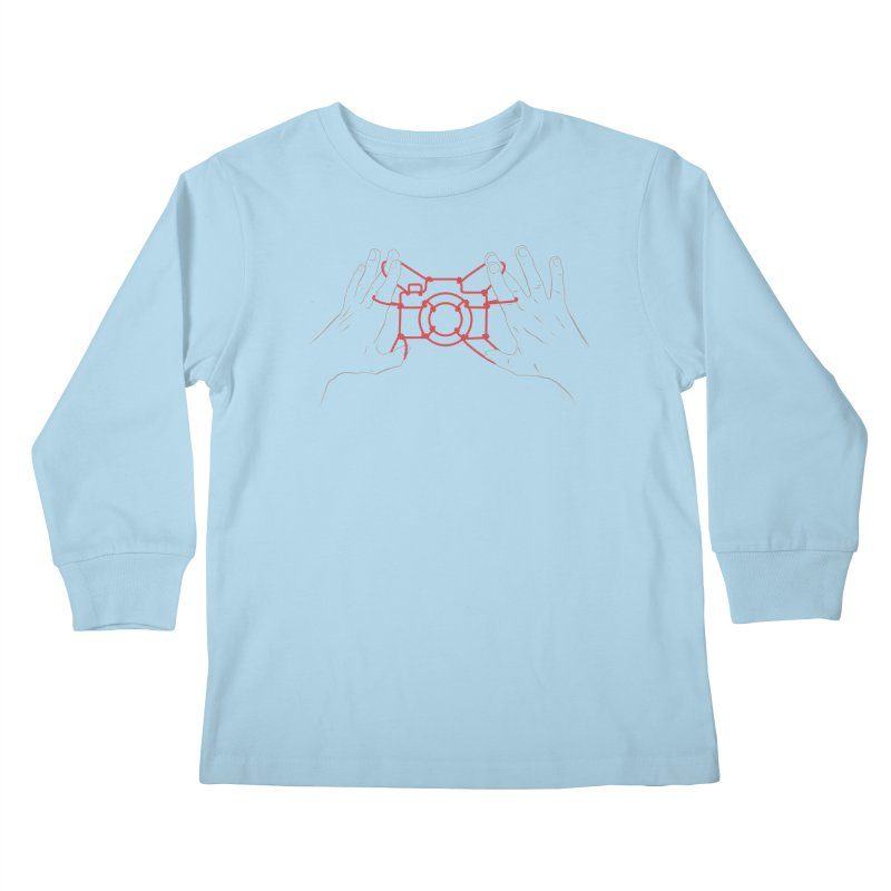 String Photography Kids Longsleeve T-Shirt by zomboy's Artist Shop