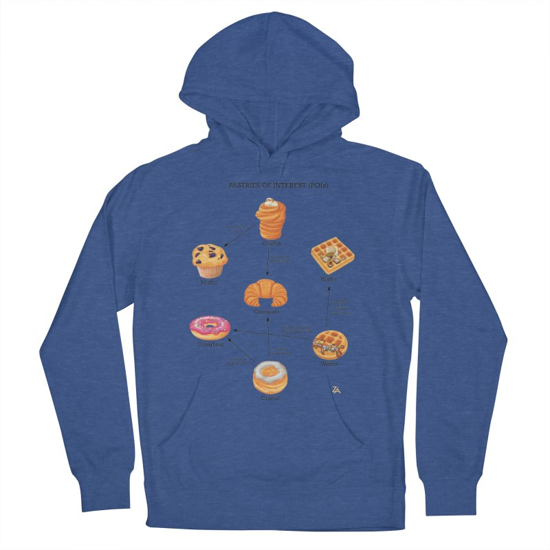 Pastries of Interest (POIs) Women's French Terry Pullover Hoody by zomboy's Artist Shop