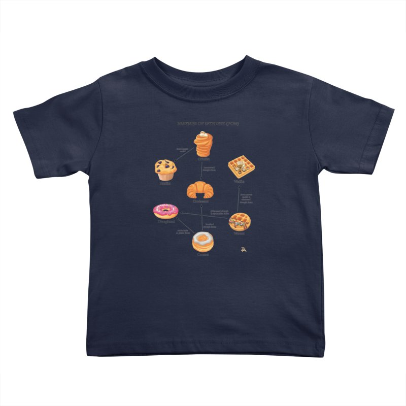 Pastries of Interest (POIs) Kids Toddler T-Shirt by zomboy's Artist Shop