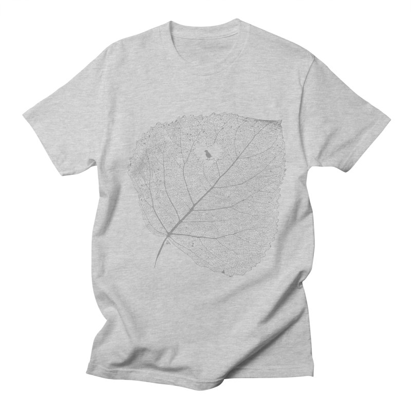 Ghost of Leaf and Feather Men's Regular T-Shirt by zomboy's Artist Shop
