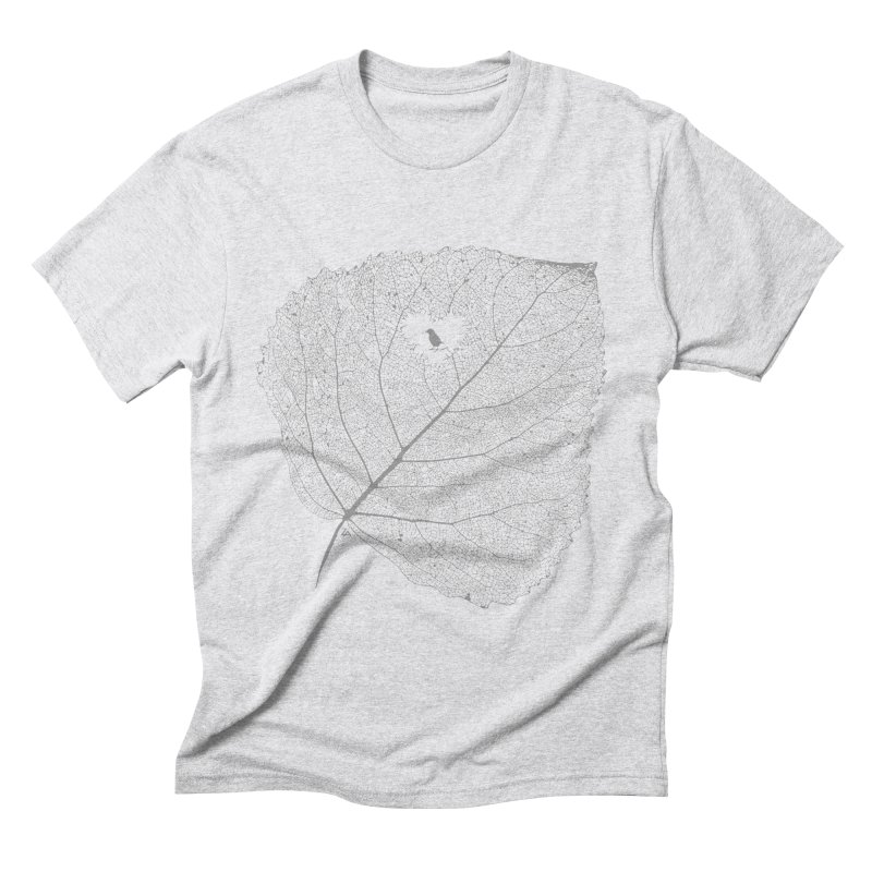 Ghost of Leaf and Feather Men's Triblend T-Shirt by zomboy's Artist Shop