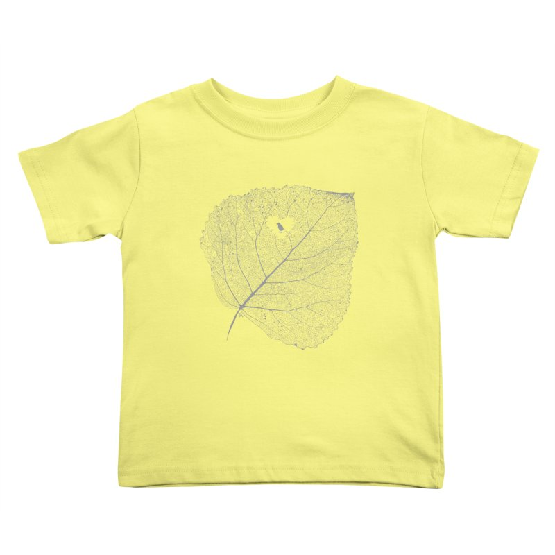 Ghost of Leaf and Feather Kids Toddler T-Shirt by zomboy's Artist Shop