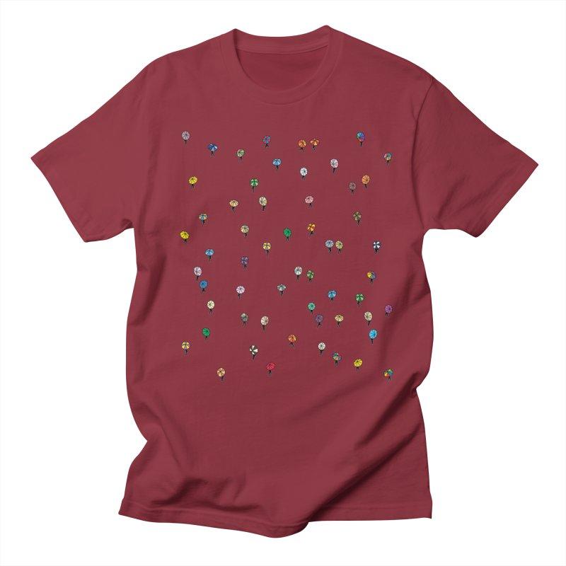 Walking Weather Pattern Men's Regular T-Shirt by zomboy's Artist Shop