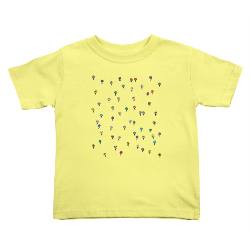 Walking Weather Pattern Kids Toddler T-Shirt by zomboy's Artist Shop